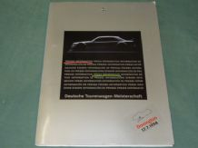 MERCEDES DTM Donington1994  Press Kit (German text)